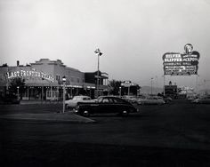 Silver Slipper at Last Frontier Village on the Las Vegas Strip, early 50s.