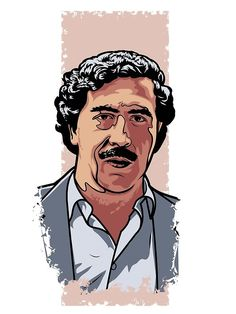 Pablo Escobar Part of a collection of portraits that will be printed on t-shirts and posters through my own brand. The theme is pop culture. Pablo Emilio Escobar, Pablo Escobar Poster, Don Pablo Escobar, Arte Dope, Dope Art, Narcos Poster, Rauch Fotografie, Mafia Gangster, Rapper Art