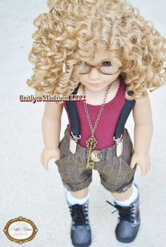 Rumour~ Customized Marie Grace Doll by Britlyn Madison Doll Clothes. Custom American Girl Dolls, Custom Dolls, Gotz Dolls, Wellie Wishers, Doll Wigs, Madame Alexander, 18 Inch Doll, Doll Clothes, Favorite Things