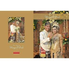 Cover #weddingalbum Ruli & Maya at #Klaten #JawaTengah | #weddingphoto by Poetrafoto Photography, http://poetrafoto.com/wedding-photography.html