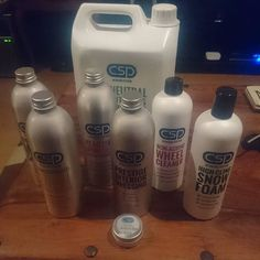 @bobturner86: #Yes! Bring on a dry day so I can play with my @cspdetailing products! Thanks Damian! #cspdetailingsystem #ScientificallyAdvanced  CSP pH Neutral Snow Foam. CSP Lubricated Conditioning Shampoo. CSP Versatile Citrus Wash. CSP Non-Acidic Wheel Cleaner. CSP Reactive Iron Fe. CSP CSP Long Life Tyre Trim. CSP CSP VOC free Glass Cleaner. CSP Prestige Interior Cleaner. CSP Prestige Interior Dressing. CSP Finest Grade t1 Carnauba Wax  #ExtremeGloss #ExtremeBeading  #ExtremeDurability…