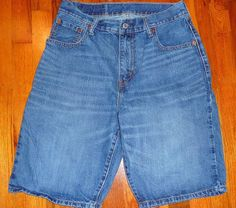 $11.99 OBO Levi's 569 Red Tag Jeans Men's 30X12 Shorts Excellent Condition #Levis #Relaxed