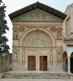 ... decorazione rinascimentale (1457-1461) - opera di Agostino di Duccio