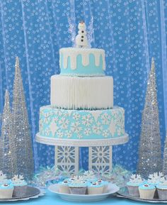 Frozen Birthday Part: The Cake