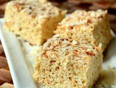 Toasted Coconut Rice Krispy Treats | Baking Bites