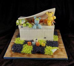Caleb's 1st Toy Chest CAke by ♥Dot Klerck....♥, via Flickr