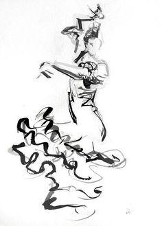danza flamenco dibujos - Buscar con Google