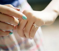 Love You Slim Cocktail Ring - Rings - Jewelry Free shipping