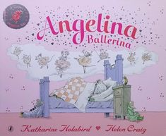 Angelina Ballerina Angelina and the Princess children English reading books For kids baby English Picture Book for Children