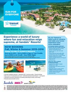 Featured Promotion - Sandals Resorts