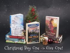 Do some Christmas shopping and Claim your FREE book from WaterBook Multnomah! Free Books, My Books, Falling In Love With Him, My Love, Fiction Novels, First Novel, One Pilots, Historical Romance, Blue Moon