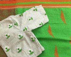 White Saree Blouse, Lehnga Blouse, Indian Blouse, Saree Blouse Neck Designs, Fancy Blouse Designs, Blouse Patterns, Mirror Work Blouse, Maggam Work Designs, Sari Design