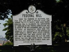 Federal Hill,  Baltimore City