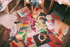 Archiving Your Little One's Art | An Artifact Uprising Project by Paper Deer Photography