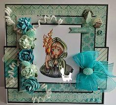 Elfie's sparkle and dust East Wind, Good News, Scrap, Sparkle, Frame, Cards, Inspiration, Instagram, People