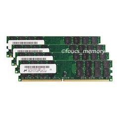 Micron 16GB 4x4GB DDR2-800 MHZ PC2-6400 240PIN Desktop memory AMD Motherboard #Micron