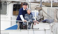 awesome. around the world in 36 years. couple quit jobs and sailed around the world.