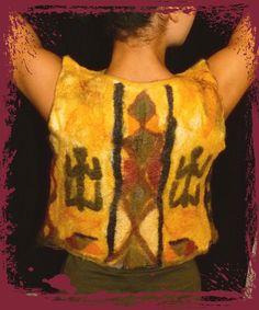 """Anlässlich der Aktion """"Kunstraub Nr.6"""", bei der das Thema """"Afrikanische traditionelle Hauskunst"""" ausgewählt wurde (http://de.dawanda.com/topic/8/11..."""