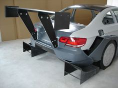 BMW E92 Diffuser and Wing Aero Package
