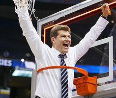 Gino Auriemma of UConn Women's Basketball...