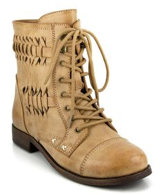 Look at this Rampage Sand Justeyna Boot on #zulily today!