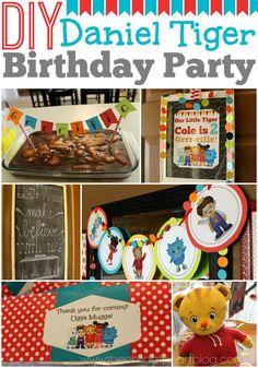 Daniel Tiger Birthday Party + 2 Free Printables - Child at Heart Blog