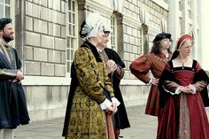 Traditional clothing in England