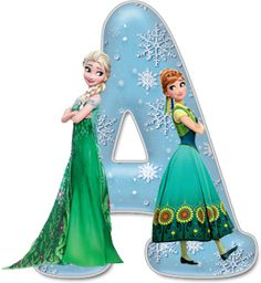 Frozen Alphabet - Free Full Alphabet is available when you click through this link 2nd Birthday Party For Girl, Frozen Birthday Theme, Frozen Theme, Disney Font Free, Disney Fonts, Frozen Tea Party, Festa Frozen Fever, Frozen Font, Disney Letters