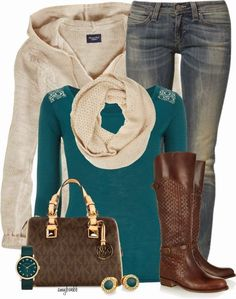 Casual Outfit - brown boots someday