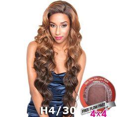 "ISIS Brown Sugar Human Hair Blend Silk Lace Wig - BS610 (4""X4"" Lace)"