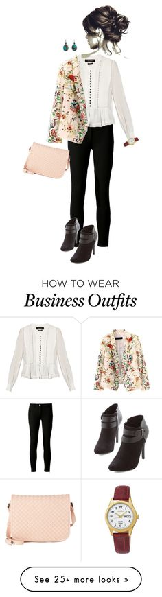 """Work Wear 3"" by lilyinjune on Polyvore featuring Michael Kors, Isabel Marant, Bottega Veneta, Seiko and Sandra Dini"