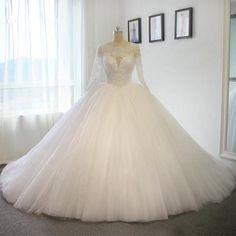 2016 New ball gown wedding dress for wedding