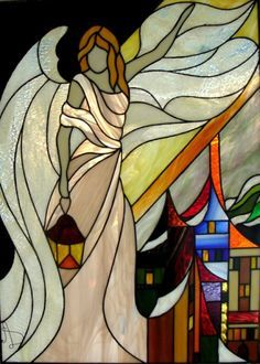 stained glass angels patterns - Google Search