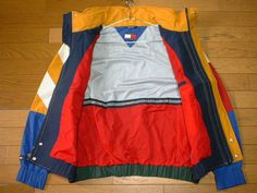 Excited to share the latest addition to my #etsy shop: 90's Tommy Hilfiger Windbreaker/ Color Block/ Tommy Hoodie/ Tommy Hilfiger Sweater/ Tommy Hilfiger Sailing Gear Medium http://etsy.me/2E8Hlit #clothing #jacket #blue #birthday #green #vintagetommy #tommyoutdoor #hi