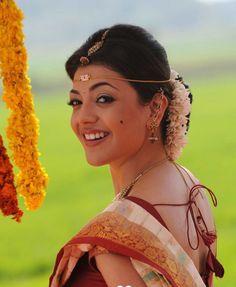 Kajal Agarwal Cute Smiling Picture #KajalAgarwal #TeluguActress #TamilActress