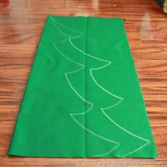 Felt Christmas Tree Pattern                                                                                                                                                                                 More