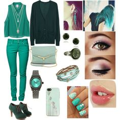 """""""More Green..."""" by javii-happy-dream on Polyvore"""
