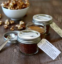 Homemade Popcorn Holiday Gift Set - Real Food Real Deals