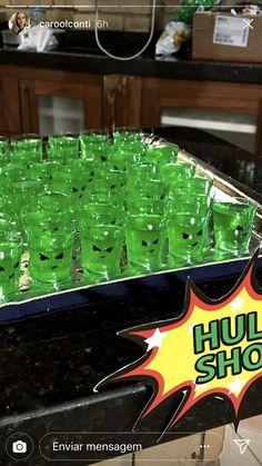 Hulk Birthday Parties, Superhero Birthday Party, Birthday Party Decorations, Boy Birthday, Hulk Party, Avengers Birthday, Incredible Hulk, Movies Online, Ideas