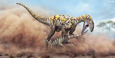 Australovenator's attempt to catch a prey (some small Ornithopod) | Wasted chance by Swordlord3d on DeviantArt