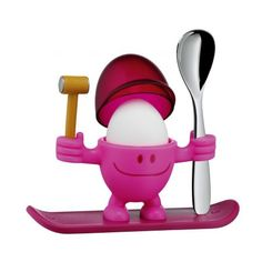 Little Pink Egg Man Novelty Cups Funky Kitchen Gadgets Items