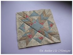 Farmer's Wife Sampler Quilt, 98 : Wood Lily