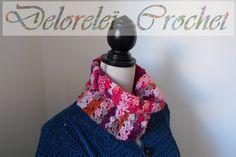 Snood crochet laine knitcol