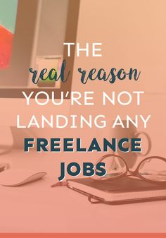 Are you struggling to land any freelance jobs? I'm willing to bet good money that THIS is the reason why!