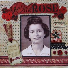 Wild Rose - Scrapbook.com