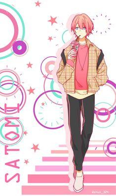さとみくん Anime Chibi, M Anime, Kawaii Chibi, Hot Anime Guys, Cute Anime Boy, Kawaii Anime, Anime Art, Vocaloid, Anime Friendship
