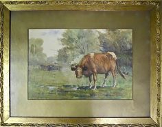 Lot 6: W.H. SAMSIL, Watercolor - J. James Auctioneers and Appraisers | AuctionZip