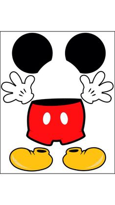 Mickey Mouse Body Parts For State Room Disney Cruise Door Instant - Clipart Suggest Mickey Minnie Mouse, Mickey Mouse Classroom, Fiesta Mickey Mouse, Theme Mickey, Disney Classroom, Mickey Party, Mickey Mouse Clubhouse, Mickey Mouse Birthday, Disney Mickey