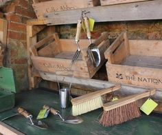 National Trust garden tool and brush kit  sweepstakes