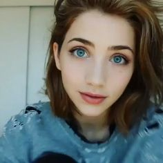 Gif  Emily Rudd.  For makeup tutorials, go to Emily Rudd @youtube